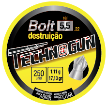 Chumbinho Technogun Bolt 5,5 c/250