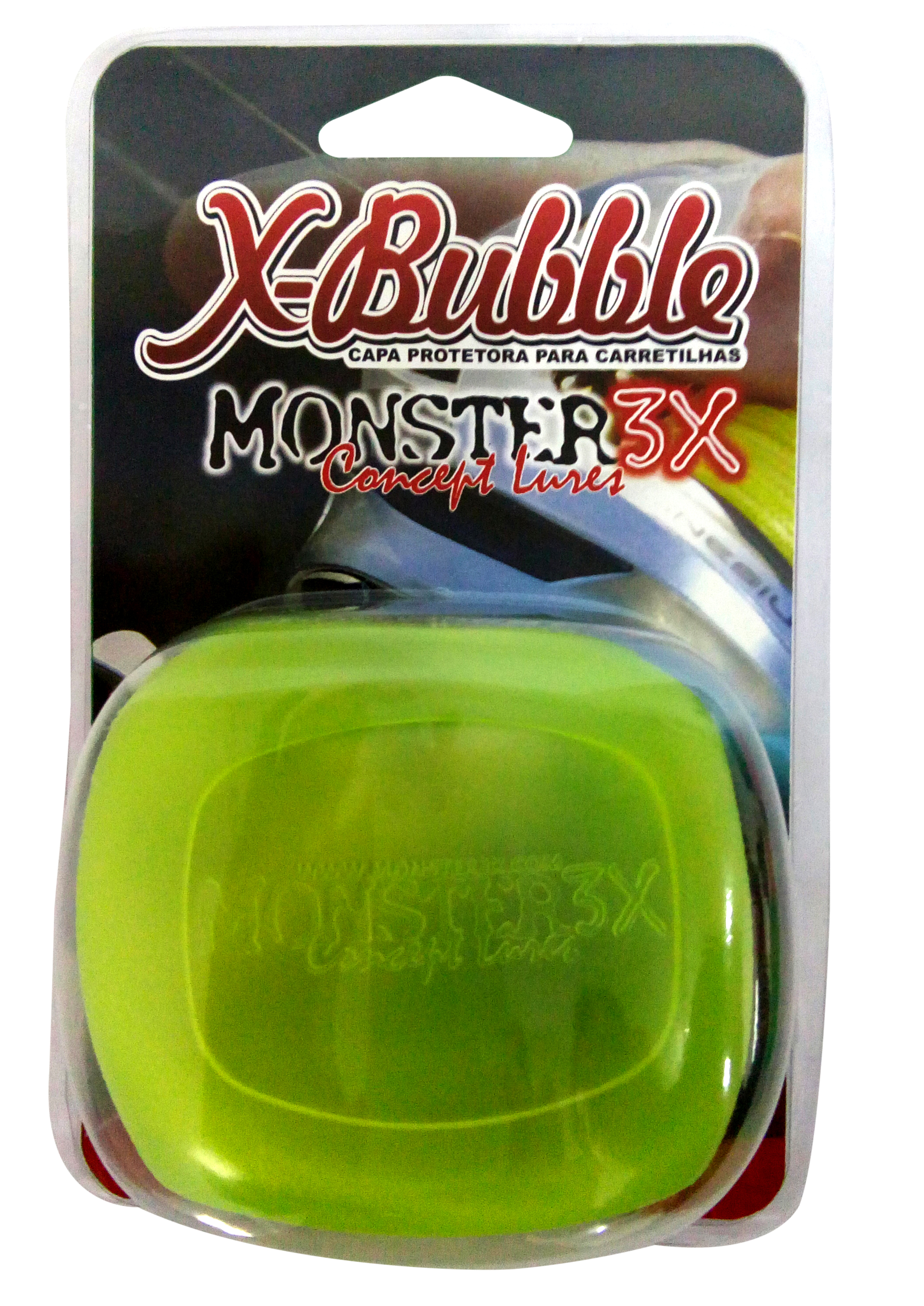 Capa Para Carretilha X-Bublle Monster 3X